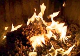 proces spalania pelletu